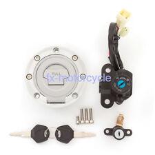 Ignition Switch Gas Cap Set Keys For Yamaha YZF R6 2003-2005 YZF R1 2002-2003 k3