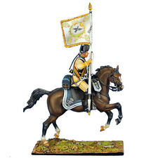 First Legion: SYW024 Prussian 3rd Cuirassier Regiment Standard Bearer