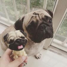 Laugh Pug Pekingese Perky Dog NOD Bobbing Bobble Head Car Home Ornament Decor