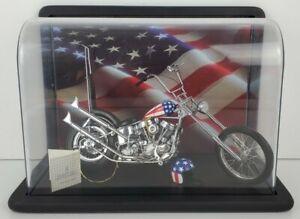 Franklin Mint Harley-Davidson Easy Rider Motorcycle Diecast - 1:10 Scale B11WL73