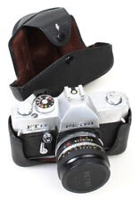 Petri FT EE Fully Automatic 35mm Film Camera w/Original Case   55mm f/1.8 Lens