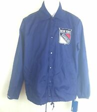 NEW New York Rangers Mitchell & Ness Vintage Assistant Coach Jacket Size S NHL