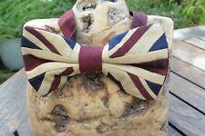 Union Jack Silk Bow Tie