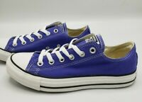 Converse All Star Ox Periwinkle Purple Blue Women's Size 10.5