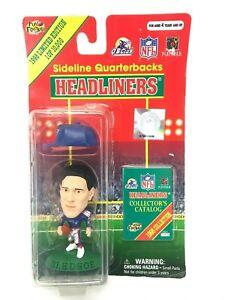 Sideline Quarterbacks Headliners Drew Bledsoe Patriots Figure NFL 1998