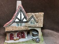 Firkin Cottage David Winter 2001 Collectors Guild Mint Coa Box.