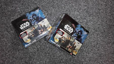 topps STAR WARS FORCE ATTAX  rogue one sealed box 36 packets display cards