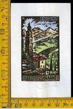 Ex Libris Originale Karoly Andrusko Jugoslavia  b 354 Charlottes Johannes