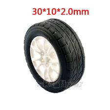 4pcs 30*10*2.0mm Rubber Car Tire 1:20 Toy Wheels Model Robot DIY RC Accessories