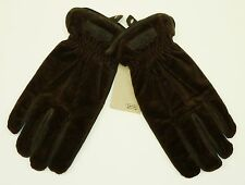 CAMEL ACTIVE MEN'S QUALITY NUBUCK & CORD GLOVES SIZE LARGE RRP £49.95 SAVE 60%