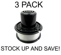 Replacement Trimmer Line 3 Spool Pack for Black & Decker RS-136-BKP
