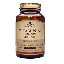 Solgar Vitamin B1 500mg Tablets 100