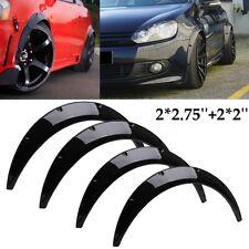 4Pcs 2''+2.75'' Flexible Auto Fender Flares Extension Wide Wheel Arche