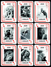 JEAN HARLOW 1 BOX WITH 54 POKER PLAYING CARDS - ARGENTINA!  NIB