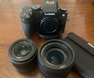 Panasonic G7 16.0MP Digital Camera - Lumix lenses, lots of of goodies