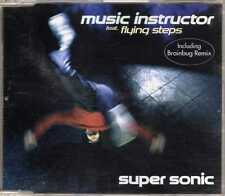 Music Instructor feat. Flying Steps - Super Sonic - CDM - 1998 - Electro 5TR