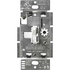 Lutron White Toggle Dimmer
