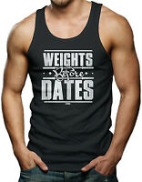 Weights Before Dates - Gym Workout Men's Tank Top T-shirt