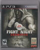 Fight Night Champion (PS3, Sony PlayStation 3, 2011) - VG
