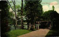 Vintage Postcard - Arbor Walk Prospect Park Brooklyn New York NY #4121