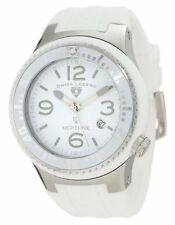 Swiss Legend Men'sNeptune White Dial White Silicone Watch 21848P-02-WB