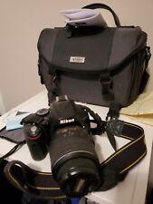 Nikon D D5100 16.2MP Digital SLR Camera - Black (Kit w/ 18-55)
