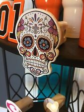 SUGAR SKULL Girly Hitch Cover - Heavy Duty Powder Coated Steel