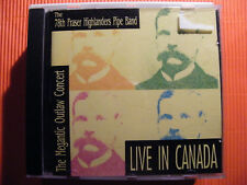 CD THE 78th Frazer Highlanders pipe band/The Megantic Outlaw Concert Live