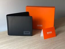 Hugo BOSS Orange Men's Black Leather Wallet 'Pulse Trifold', Style 50332397