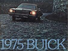 1975 Buick Riviera Electra LeSabre Regal Century Skylark 62-Page Sales Brochure