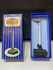 HORNBY DUBLO ED1 SINGLE ARM SIGNAL & BOX VINTAGE OO ELECTRICAL OPERATED WORKING