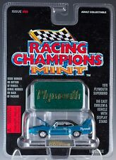Racing Champions Mint Issue #59 1970 Plymouth Superbird Metallic Blue New 1996