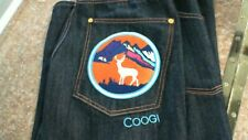 Coogi jeans size 36 Mens with deer design