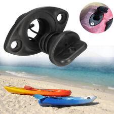 Universal Black Boat Drain Screw Bung & Socket 18mm With Captive Plug Chandlery