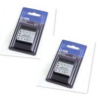 2PCS  Li-42b Battery for OLYMPUS FE-200 FE-220 FE-330 LI-40C Charger