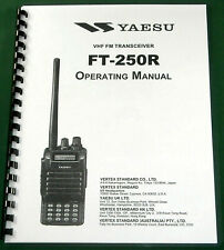 Yaesu FT-250R Instruction Manual - Premium Card Stock Covers & 28lb Paper!