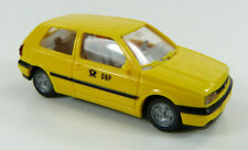 VW Golf III DBP Post gelb Wiking 1:87 H0 ohne OVP [TG3-B7]