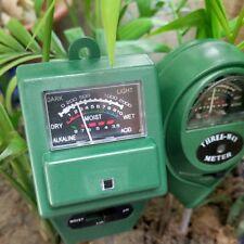 Numérique PH Mètre 3 dans 1 plantes Fleurs D'eau Du Sol Lumière testeur Capteur