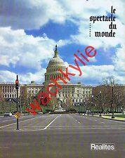 Le spectacle du monde 226 du 01/1981 Reagan Président USA Nabis Kania Astrologie