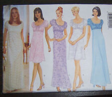 OOP long/short fancy summer sun DRESS 6-10 prom Pattern bridal Easter short slee