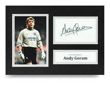 Andy Goram Signed A4 Photo Rangers Autograph Display Memorabilia COA