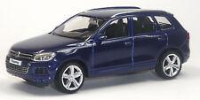 Nouveau: VW TOUAREG v6 tdi modèle de collection Bleu environ 1:43/10 cm article neuf de VPM City