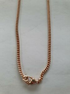 "20"" 9ct Rose Gold Curb Chain"
