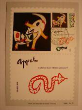 (NL3195) PAINTING KAREL APPEL 1988 NETHERLANDS maximum maxi card postcard