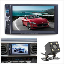 7'' 2Din Car Stereo Radio Bluetooth MP5 Player Phone Link Touch Screen&HD Camera