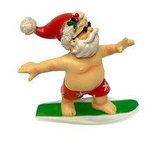 Fancy That Surfing Santa Beach Tropical Paradise Noel Kriss-Kringle Saint Nick
