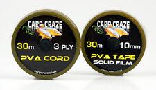 PVA mesh Carp Craze x5 spools 2 narrow 3 wide