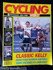 CYCLING WEEKLY - CLASSIC KELLY - OCT 26 1991