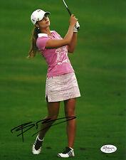 Beatriz Recari Hand Signed 8x10 Photo LPGA Golf Autograph JSA Authenticated