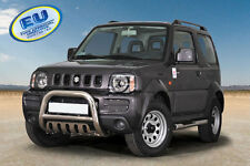 Suzuki Jimny 2005-2012 CE APPROVED BULL BAR PUSH BAR GRILL GUARD WITH SKID PLATE